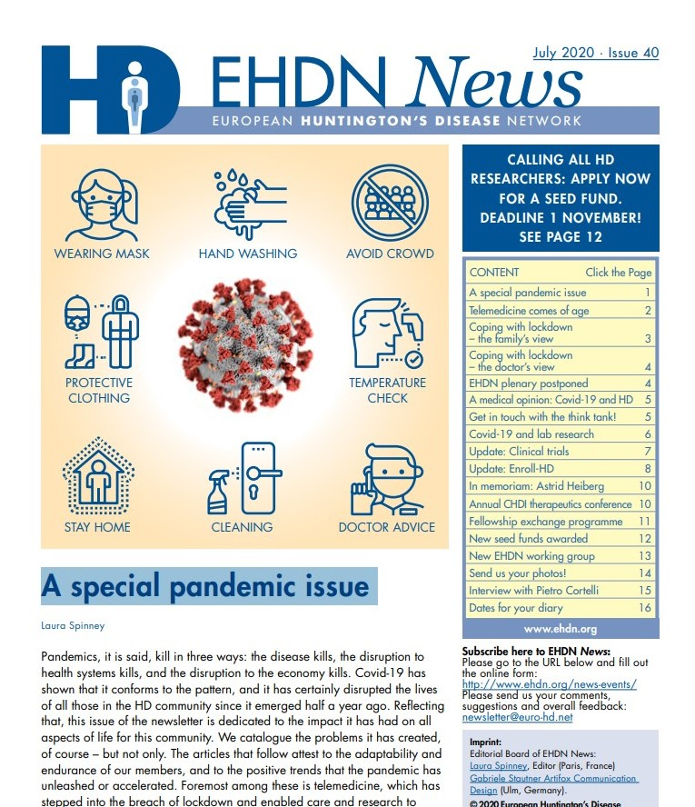 EHDN Latest Newsletter