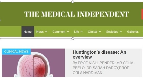 The Medical Independent Features Huntingtons Disease