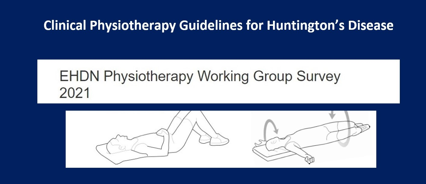 EHDN Physiotherapy Working Group Survey 2021